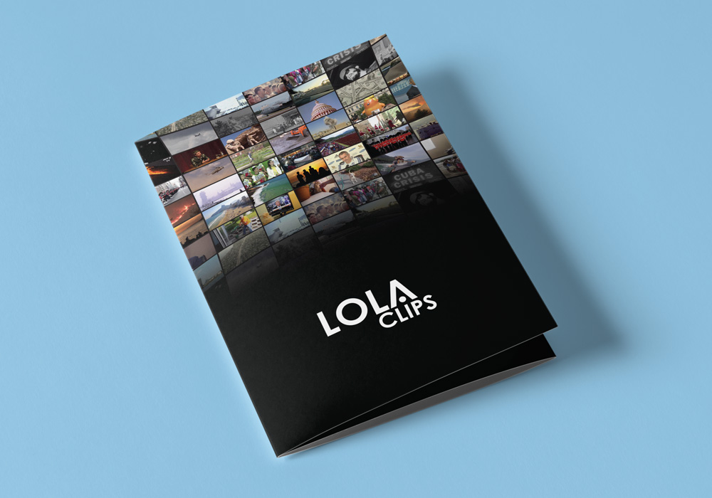 Brochure design for Lola Clips