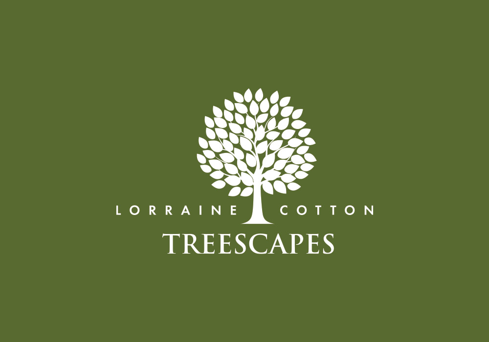 Lorraine Cotton Treescapes logo design